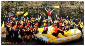 oferta viaje con niños verano julio y agosto, verano monoparentales, verano singles con hijos, rafting en familia, rafting ponferrada, rafting leon