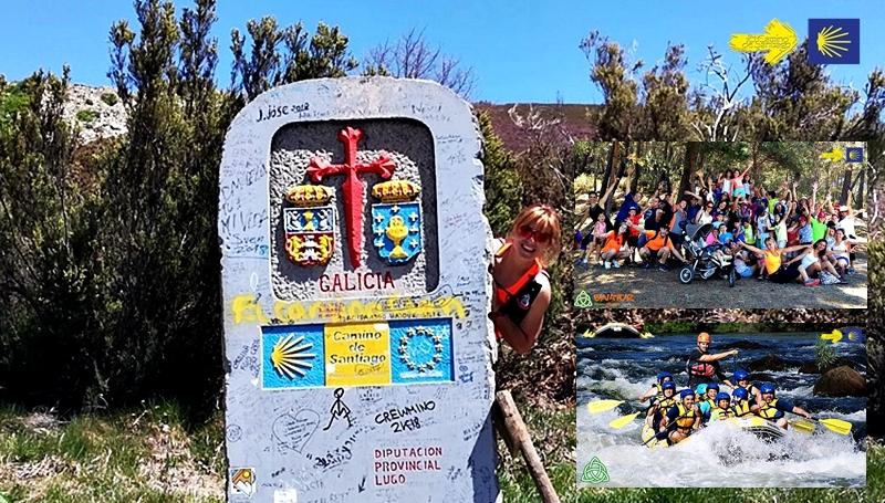 camino de santiago con niños, camino de santiago monoparentales